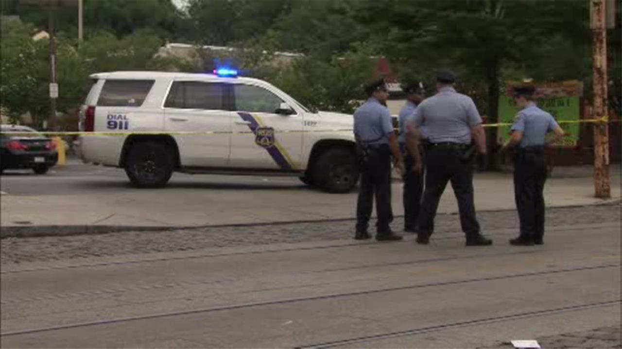 A man was critically injured in a shooting in the Germantown section of Philadelphia.