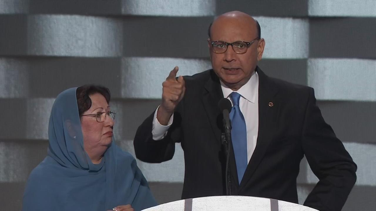 VIDEO: Khizr Khan speaks at the DNC