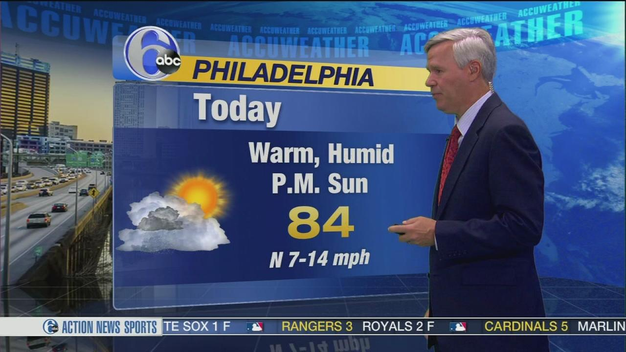 VIDEO: David Murphy and AccuWeather