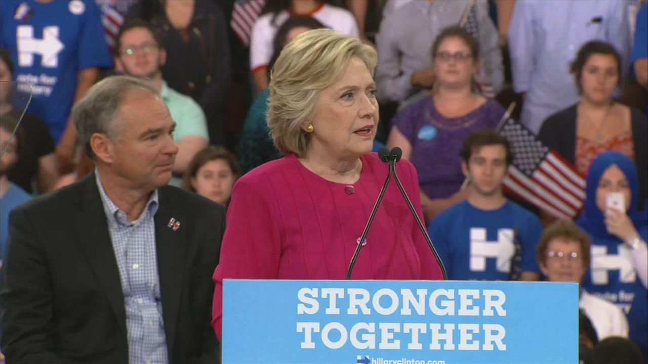 RAW VIDEO: Hillary Clinton at Temple Univ.