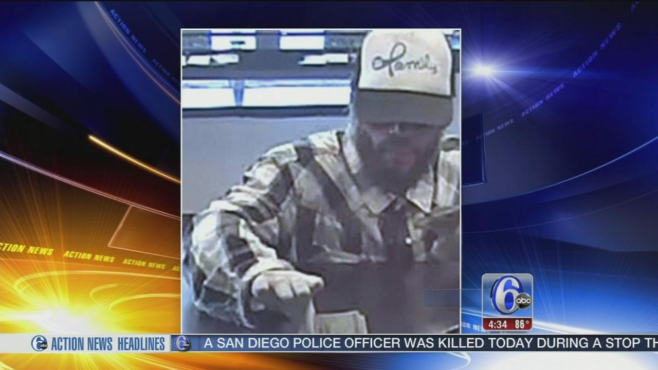 VIDEO: Bank robbery