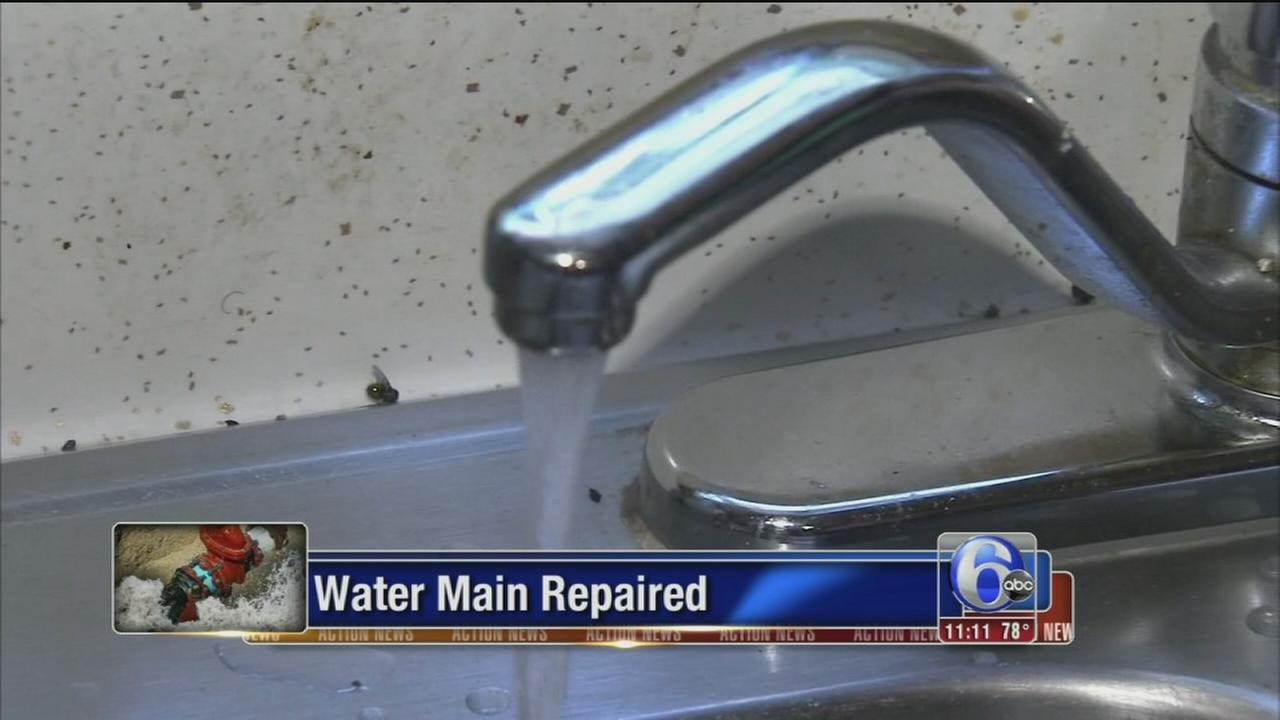 VIDEO: Water main break folo