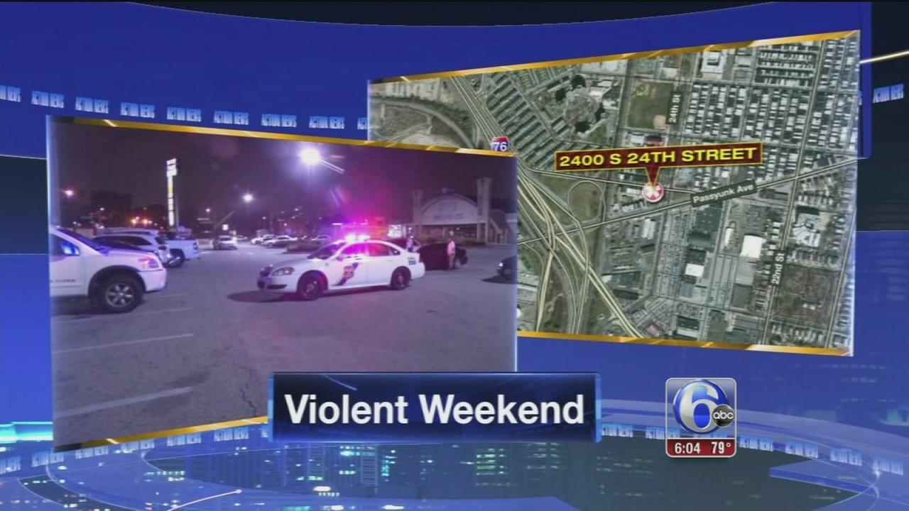 VIDEO: South Philly party shooting