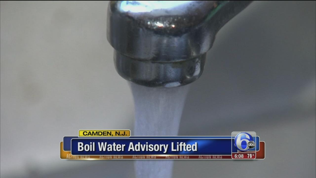 VIDEO: Boil water advisory lifted