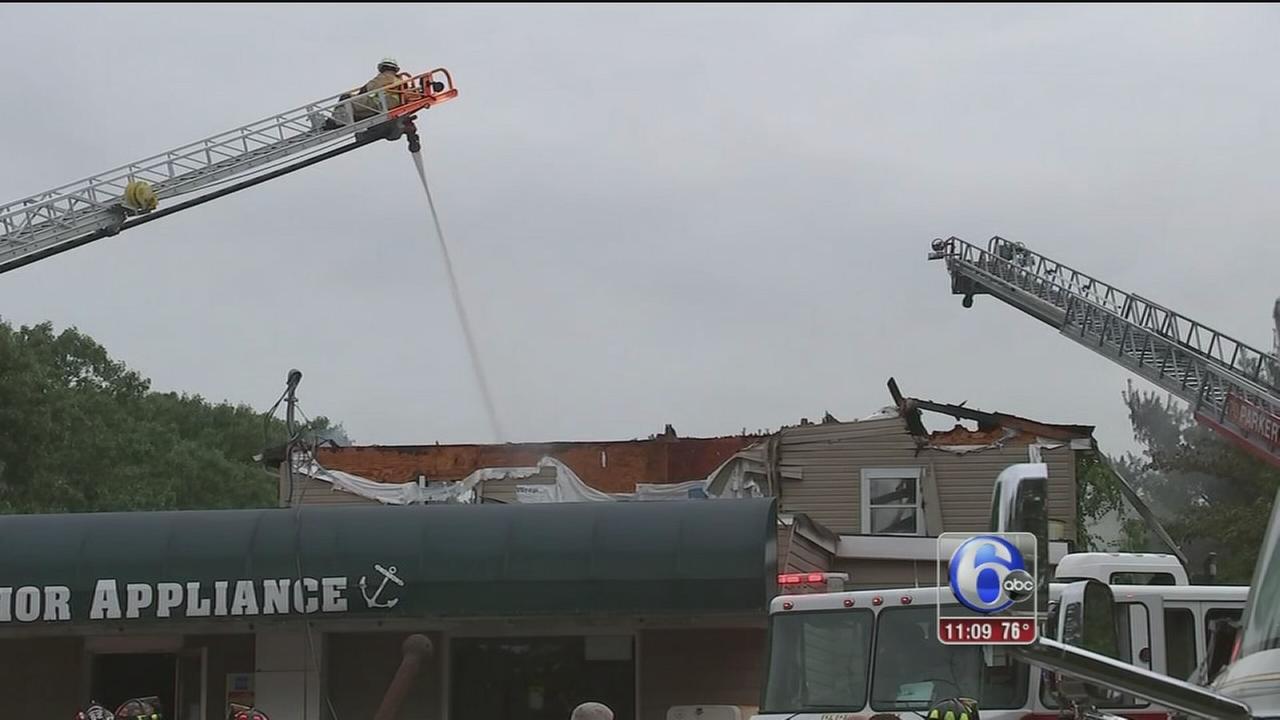 VIDEO: NJ fire