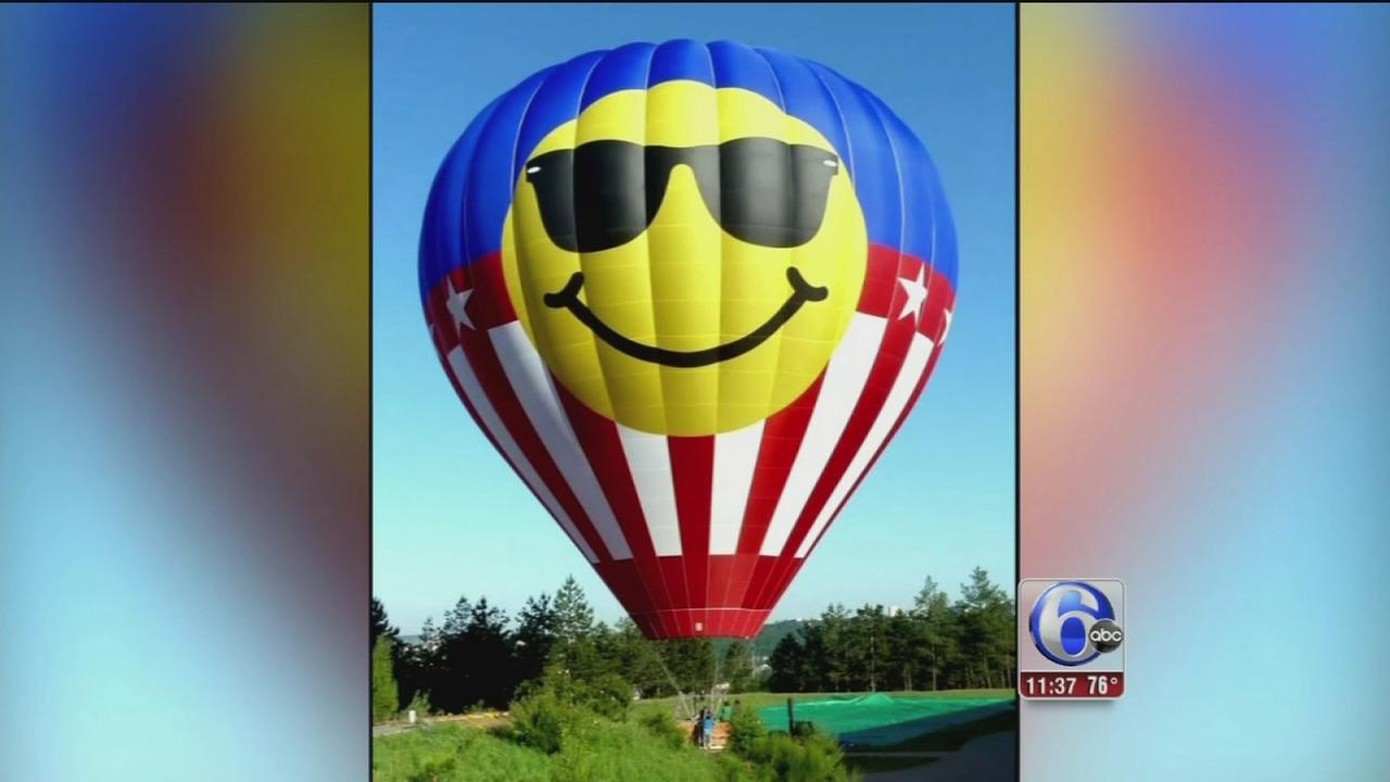 VIDEO: Hot air balloon crash