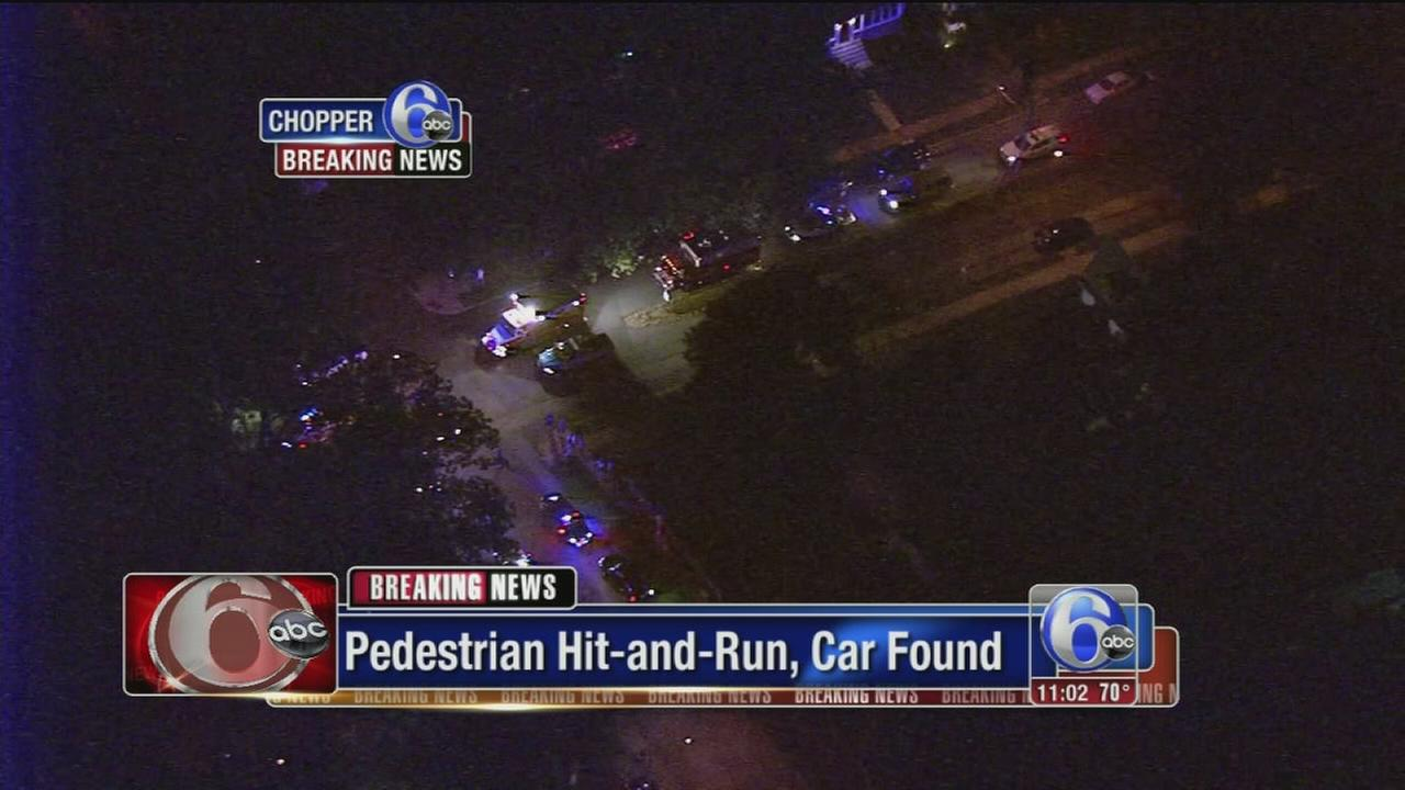 VIDEO: Pedestrian struck in Delco