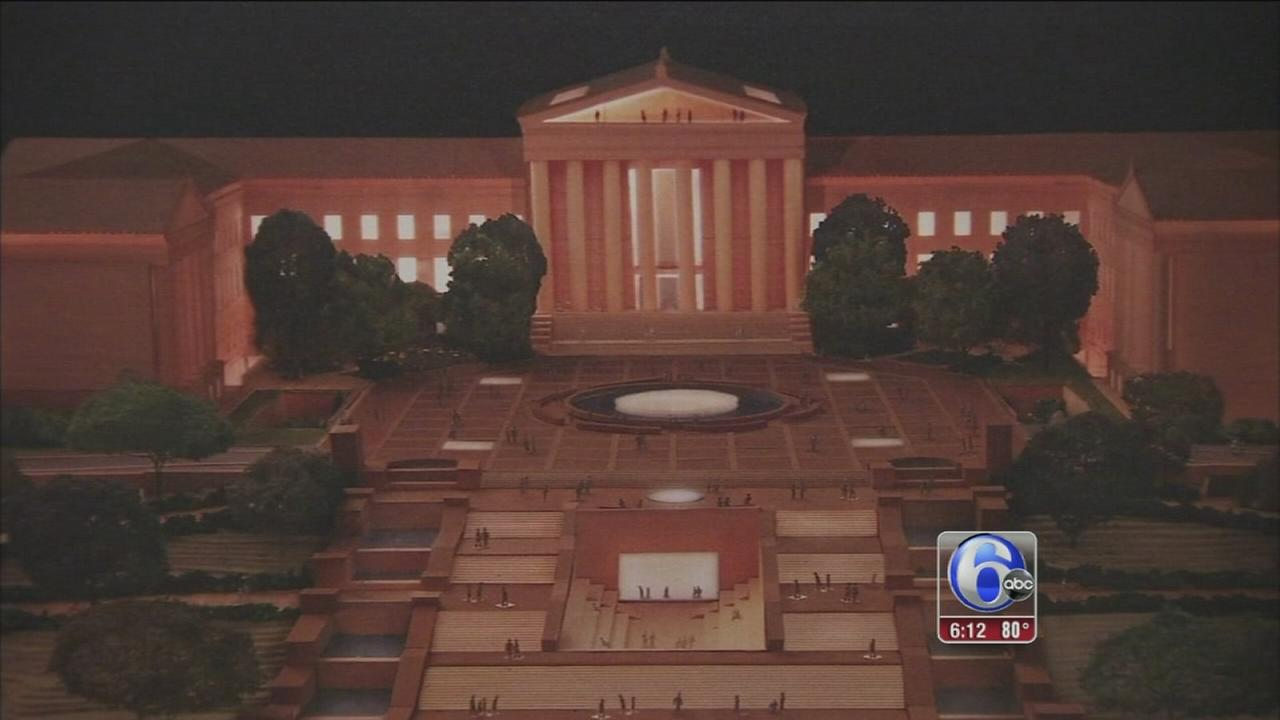 VIDEO: Proposed expansion plans for Phila. Museum of Art