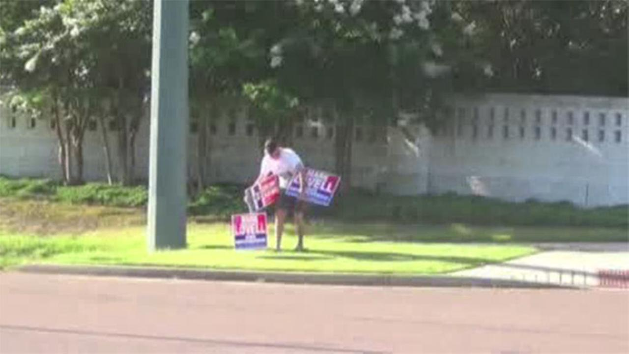 St. Rep. arrested for stealing opponents campaign signs