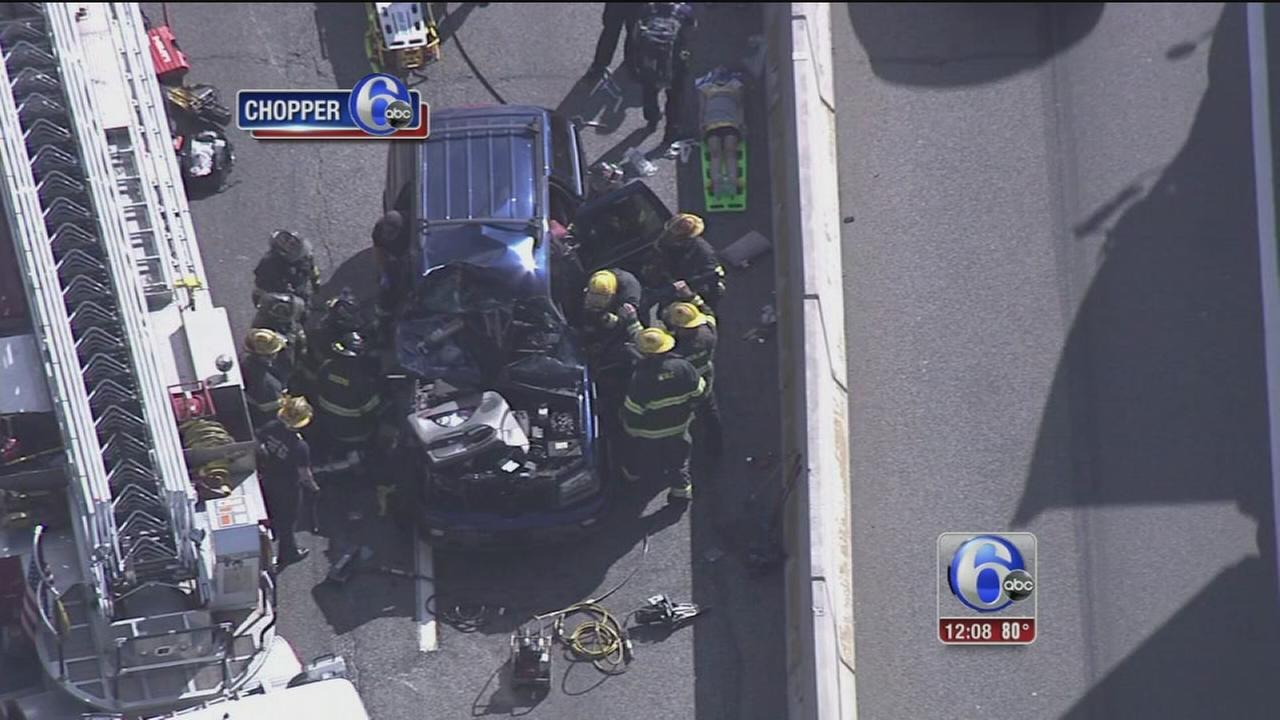 VIDEO: I-95 South back open after crash