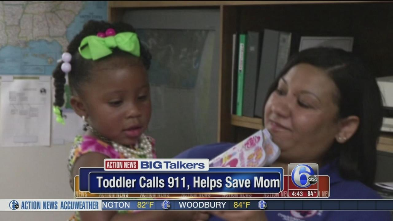 VIDEO: Toddler calls 911, saves moms life during seizures