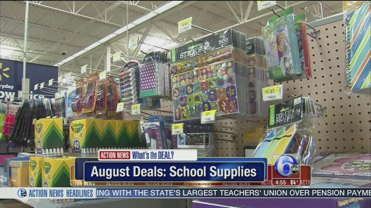 VIDEO: August deals and discounts