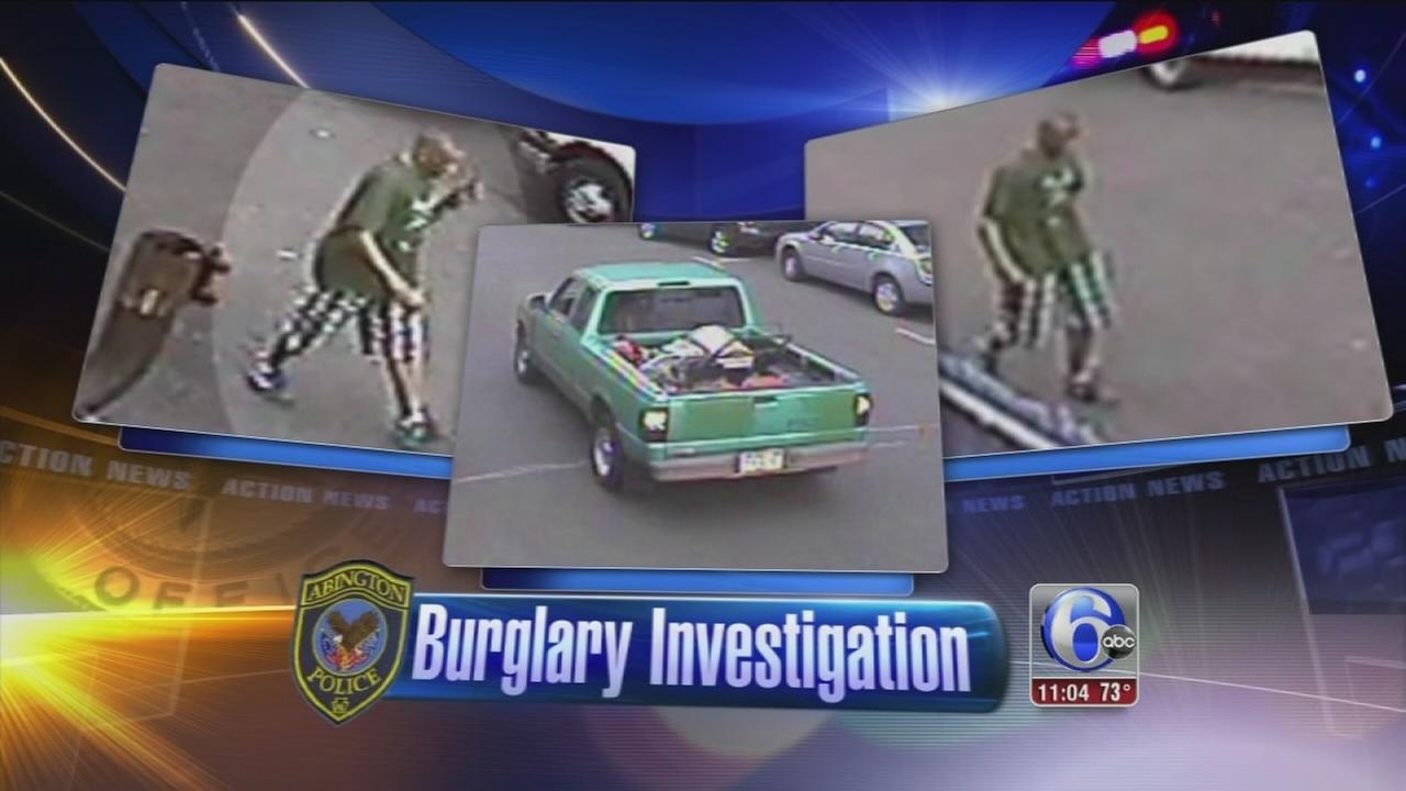 VIDEO: Police: Burglar in Jenkintown stops to make coffee