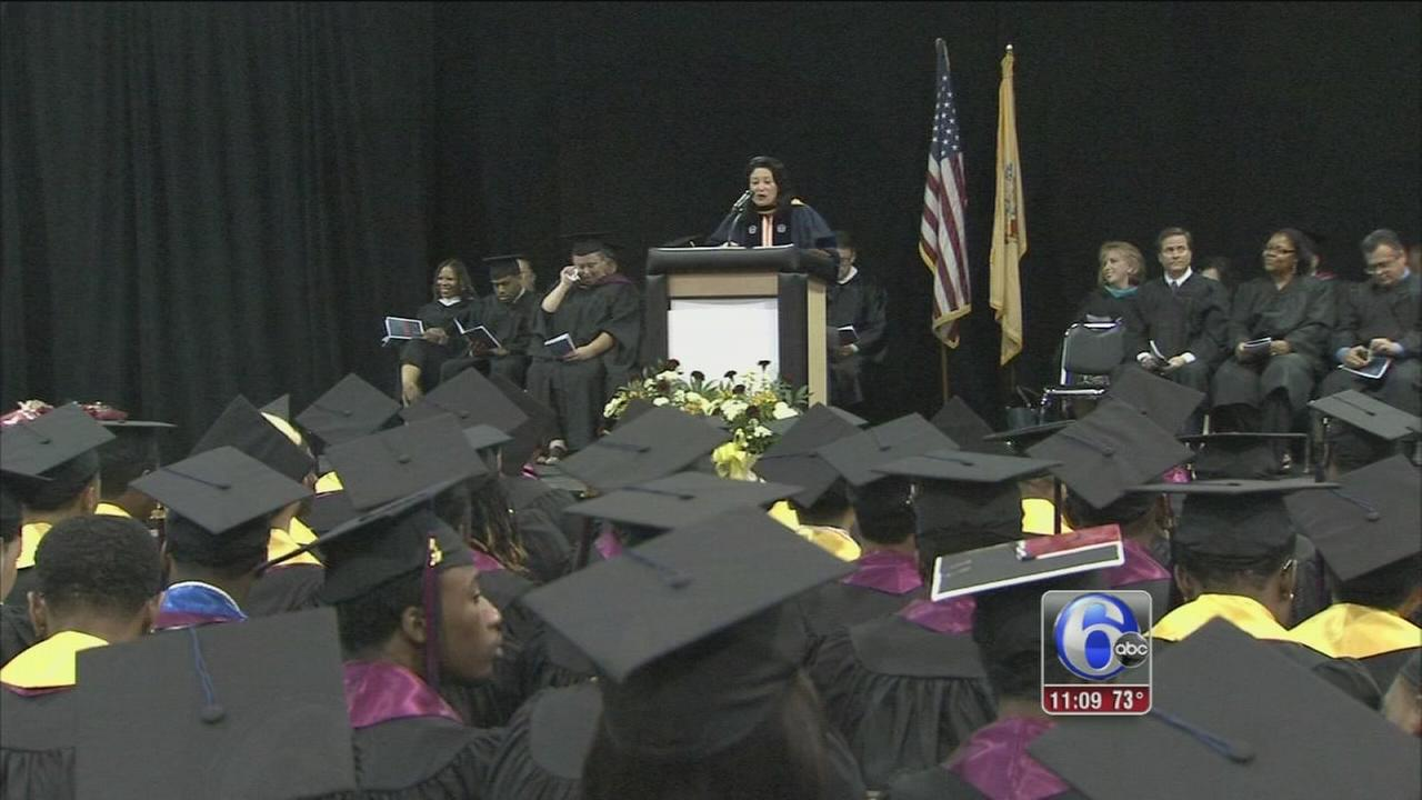 VIDEO: Camden schools 100 percent graduation rate continues