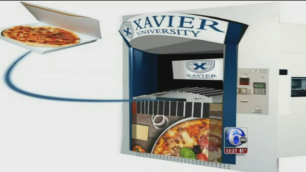 VIDEO: Ohio college gets first pizza ATM