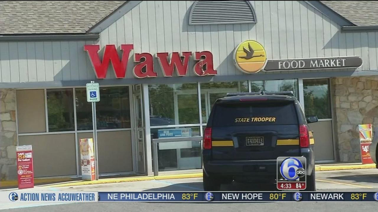 VIDEO: Clerk held at gunpoint during Wawa robbery in Delaware