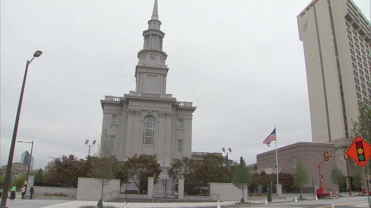 Get a glimpse inside Philadelphias new Mormon temple, where public tours start this week!