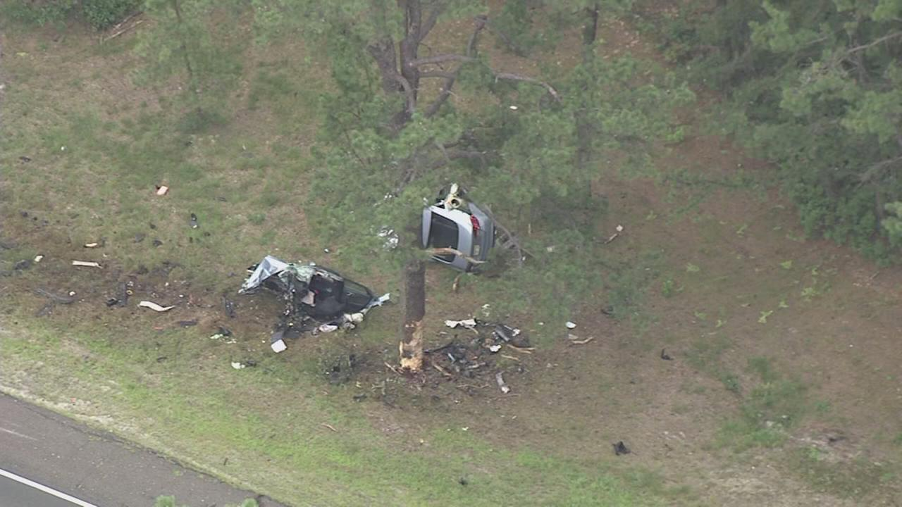 VIDEO: Serious crash on Route 70 in Pemberton Twp.