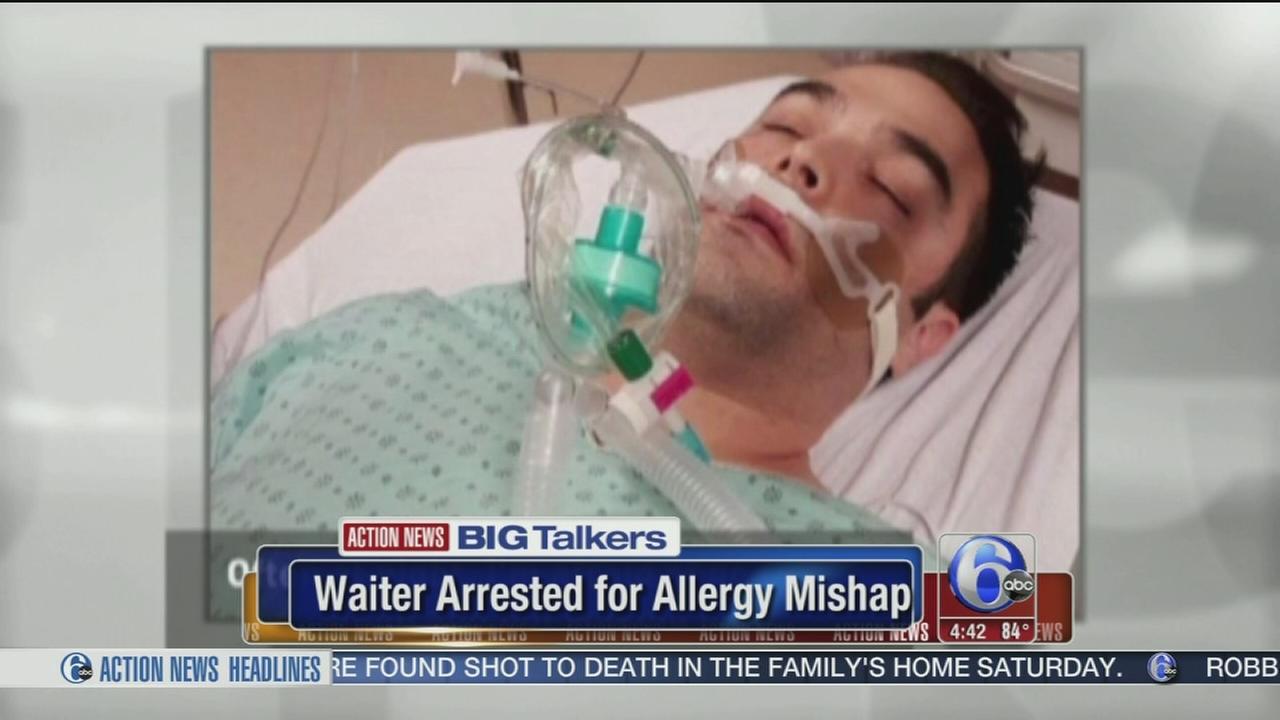 VIDEO: Police arrest Quebec waiter for serving allergic patron