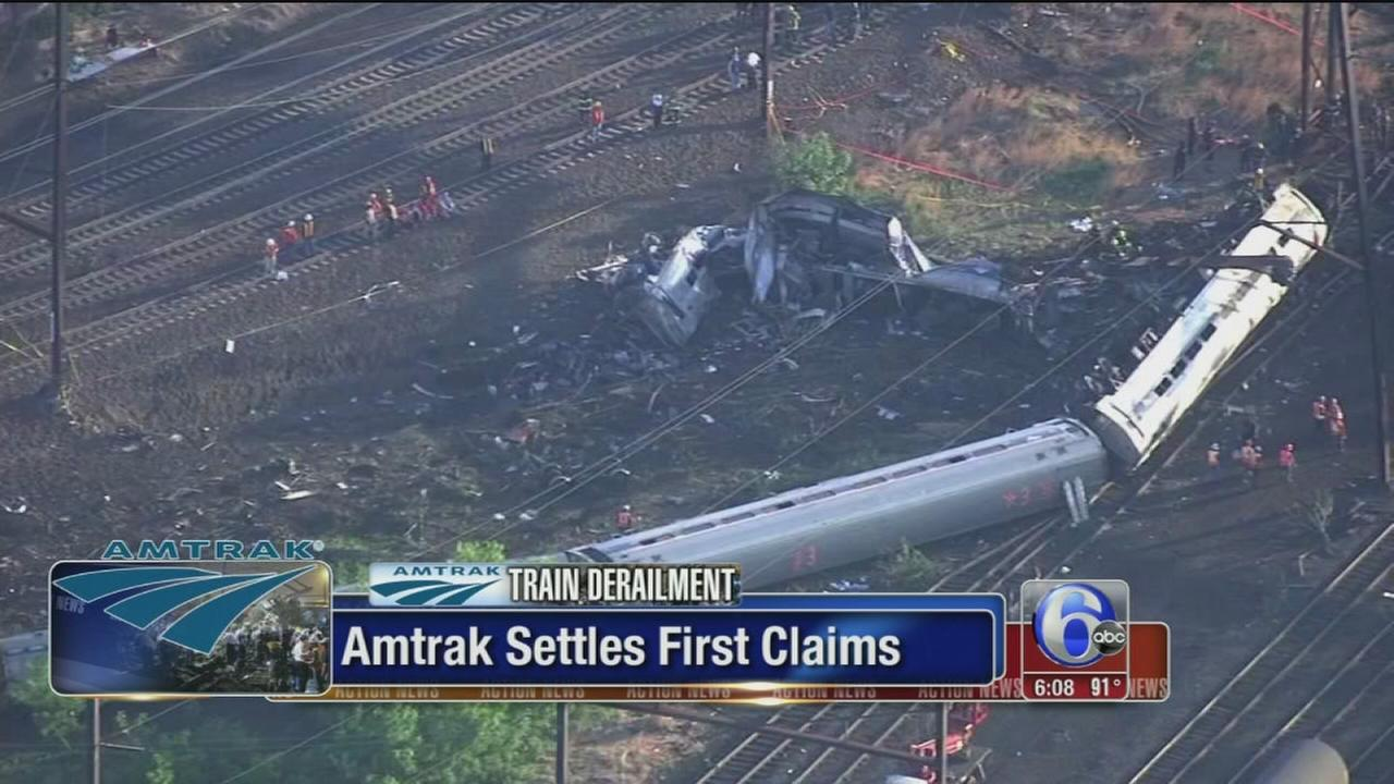 VIDEO: Amtrak settles first claims