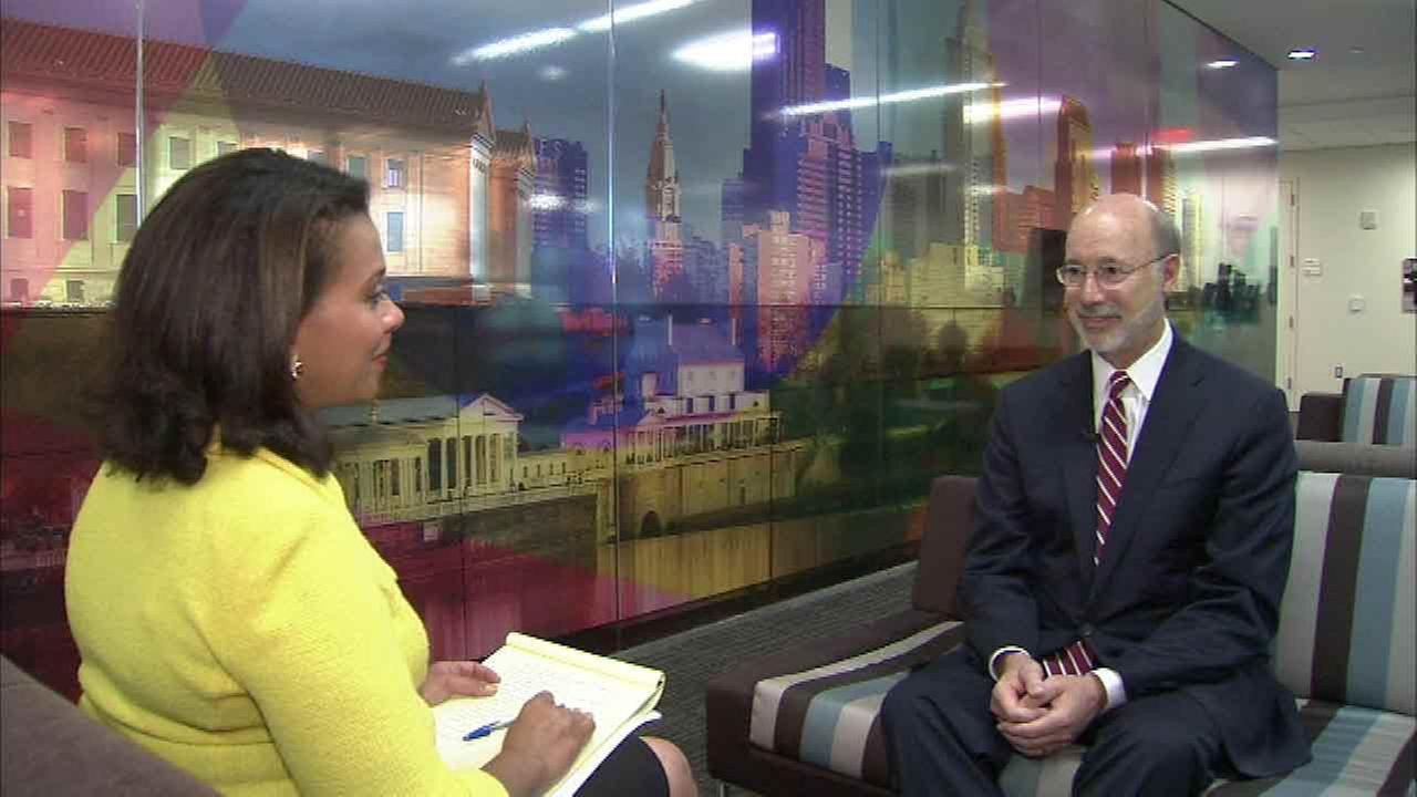 One-on-one with Governor Tom Wolf