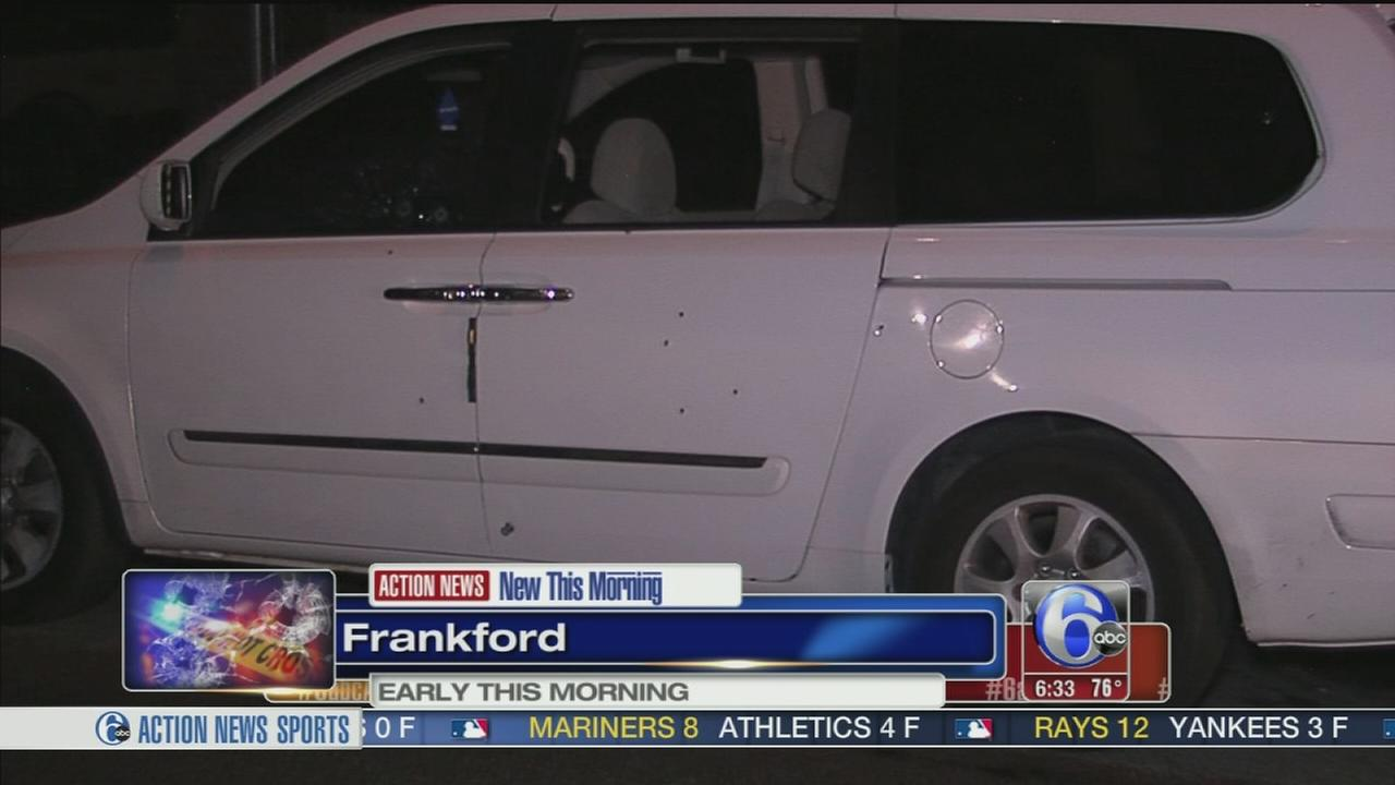 VIDEO: Woman shot in Frankford ambush