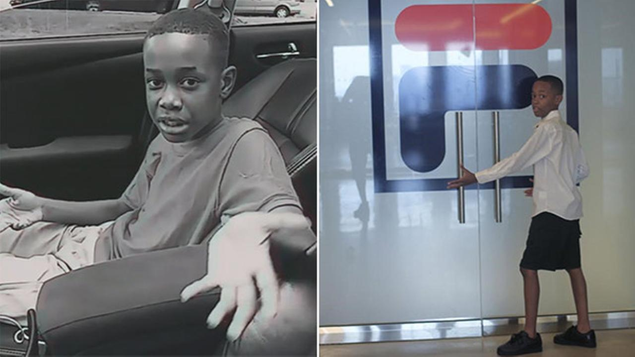 NJ boy taunted for sneakers gets trip to FILA headquarters