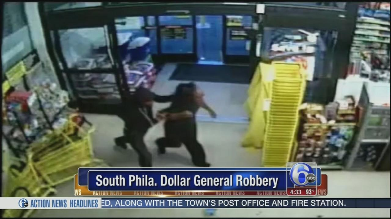 VIDEO: Dollar General robbery
