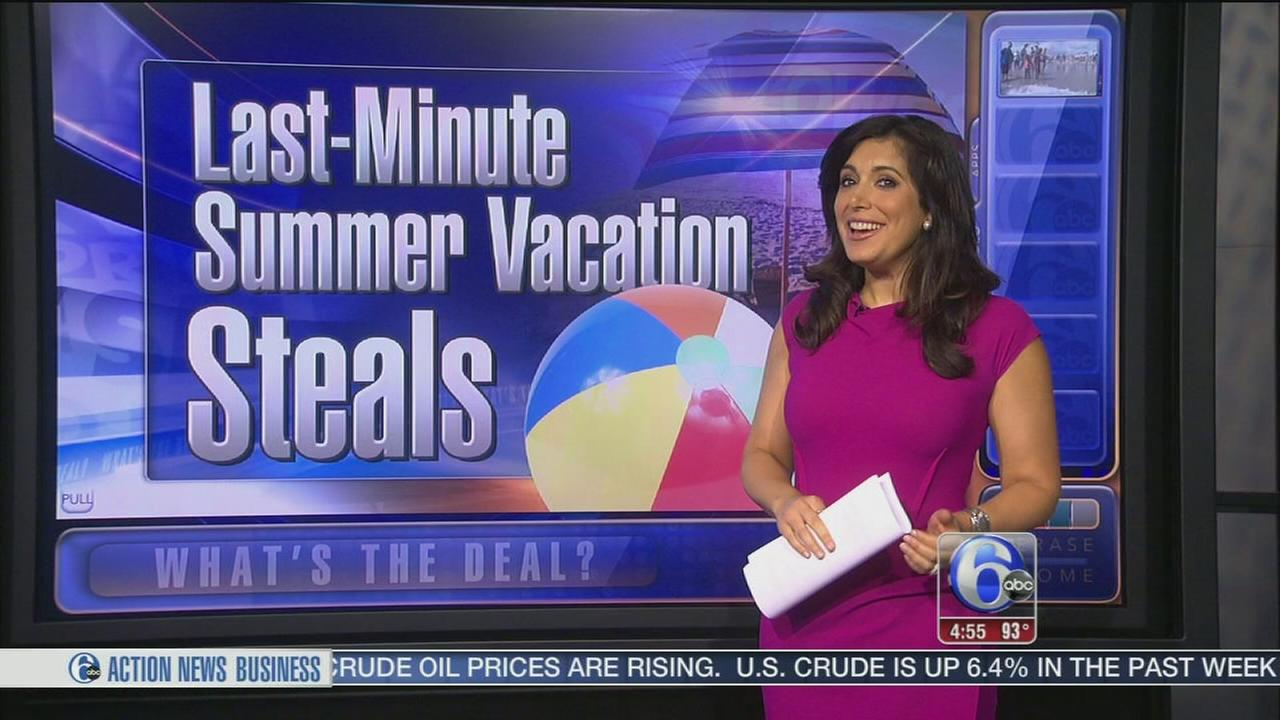 VIDEO: Last-minute summer vacation deals