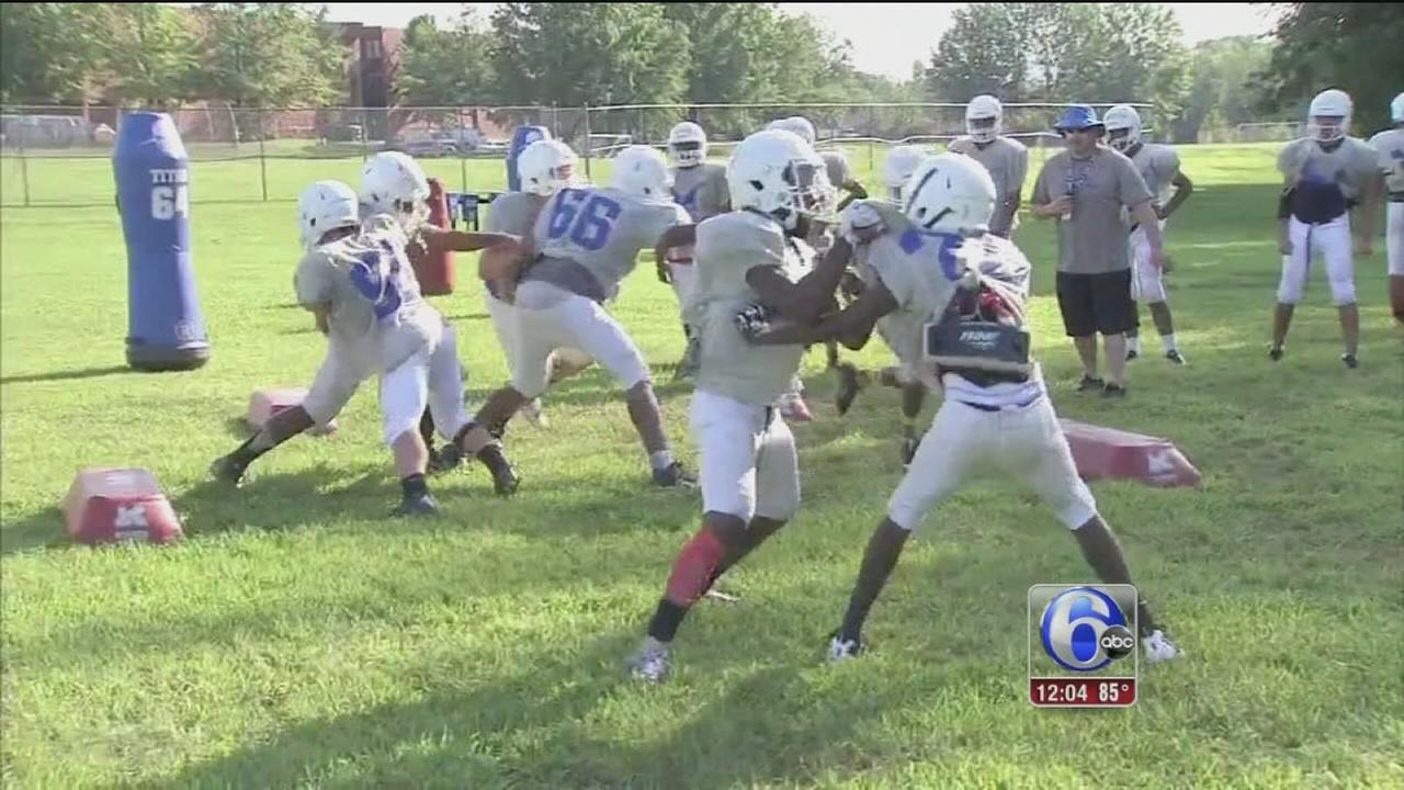 VIDEO: Keeping young players safe in the heat