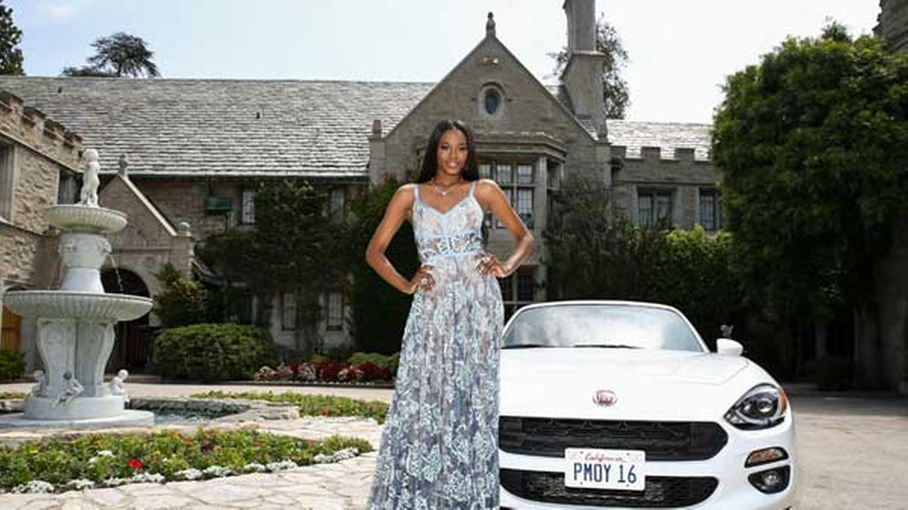 FILE - Eugena Washington, Playmate of the Year, at Playboys 2016 Playmate of the Year Announcement held at the Playboy Mansion on Wednesday, May 11, 2016 in Los Angeles.