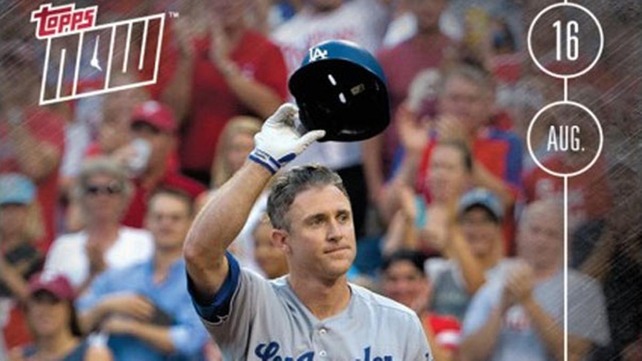 Limited time only: Topps selling baseball card of Chase Utley's grand Philly return