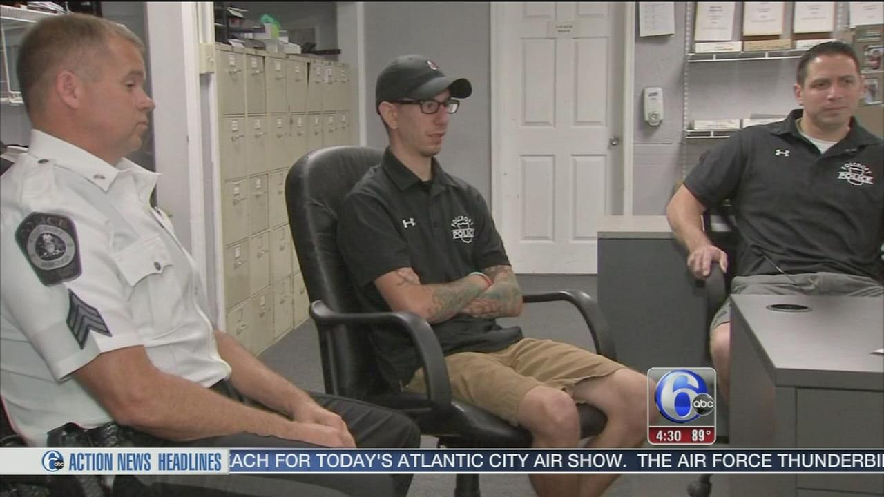 VIDEO: Folcroft officers honored