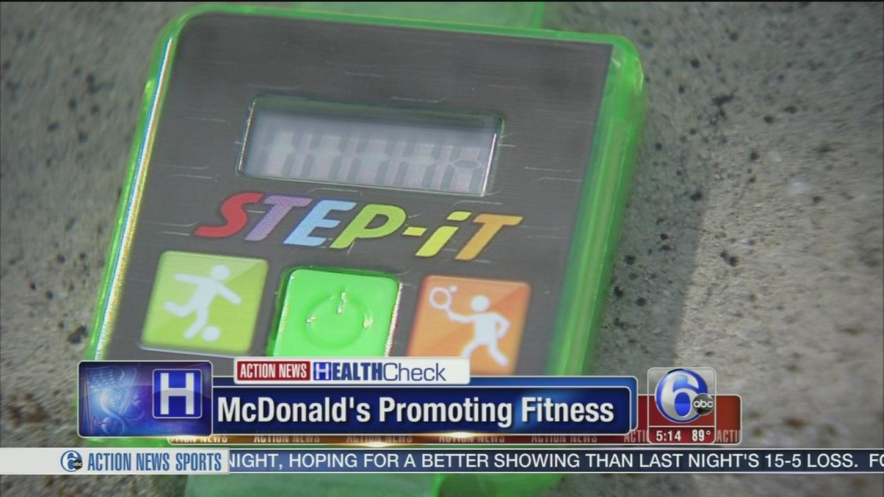 VIDEO: McDonalds serving up fitness trackers in Happy Meals