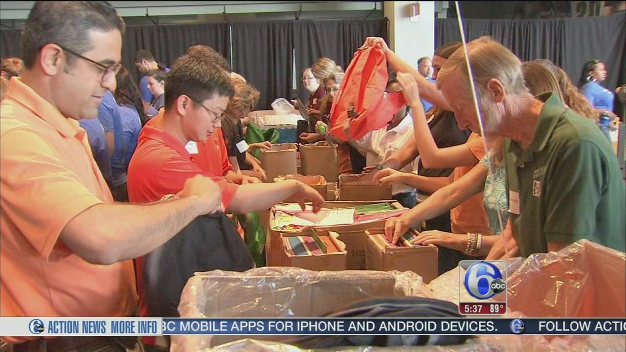 VIDEO: Cradles to crayons