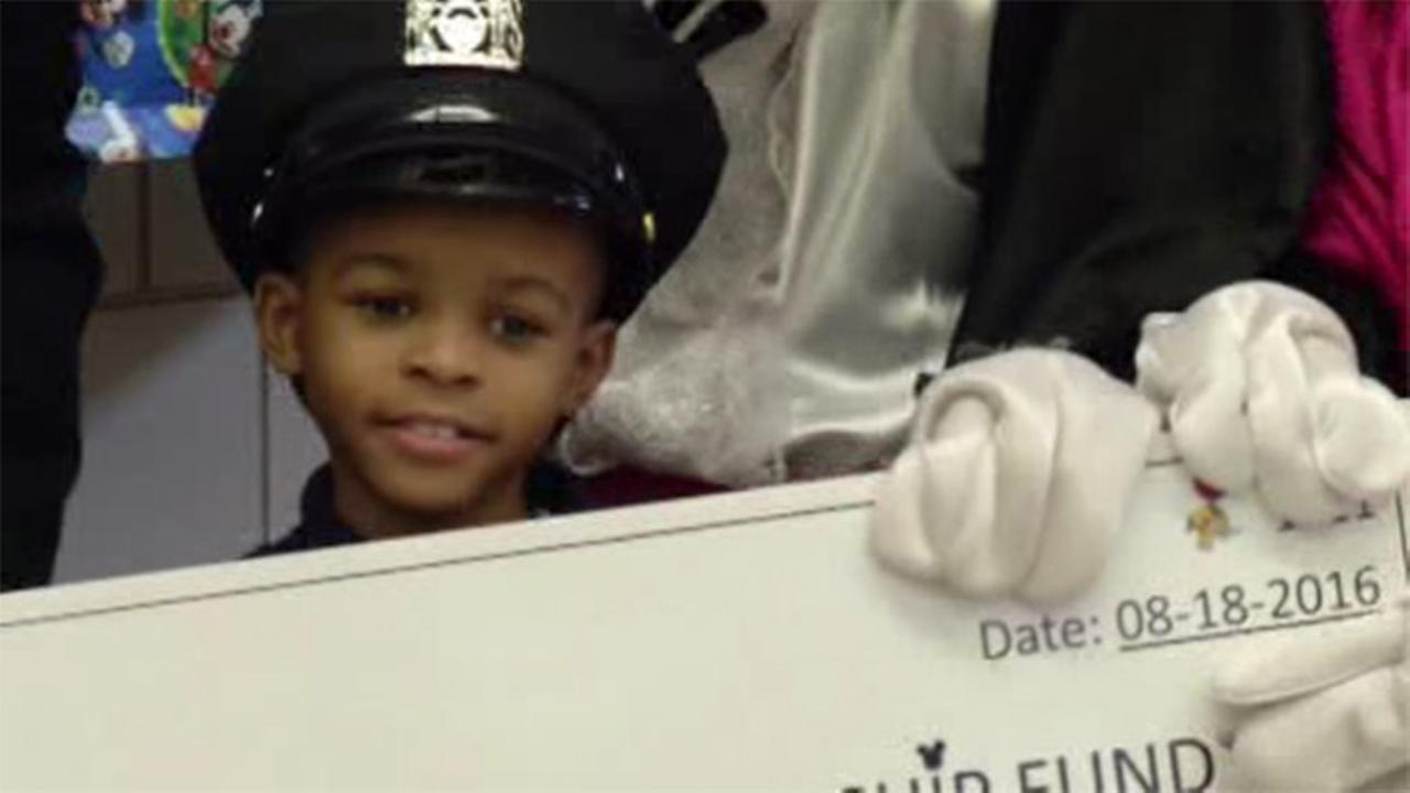 NYPD sends orphaned boy to Disney World