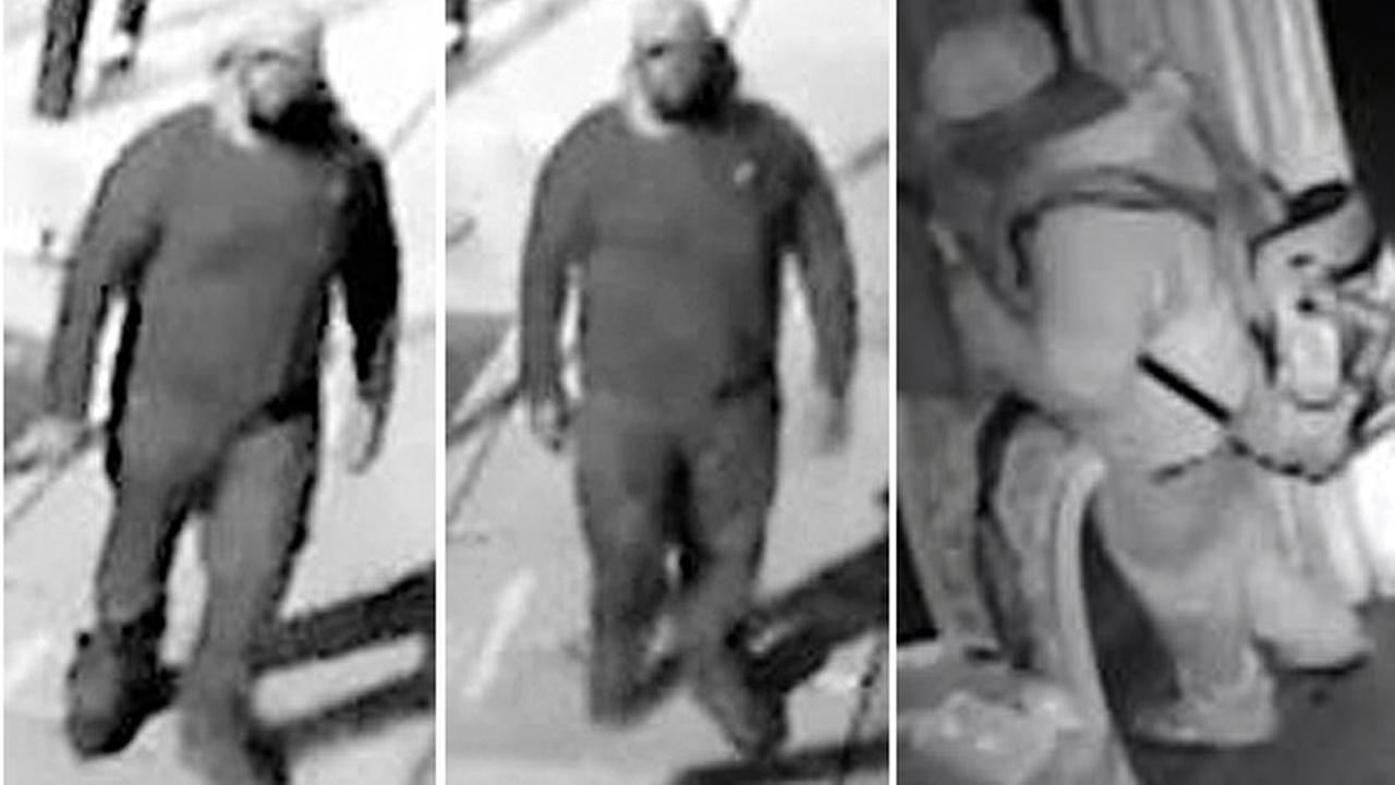 Arson suspect caught on camera in Center City Philadelphia