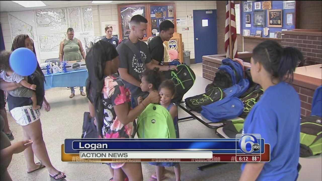 VIDEO: Police backpacks