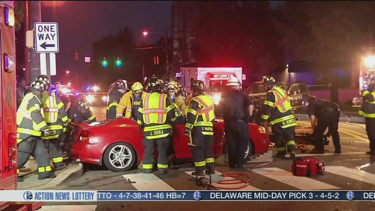 VIDEO: Hit-and-run crash in Wilmington