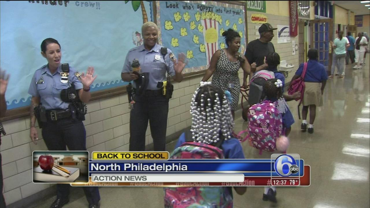 VIDEO: Back to class at Masterys Frederick Douglass school