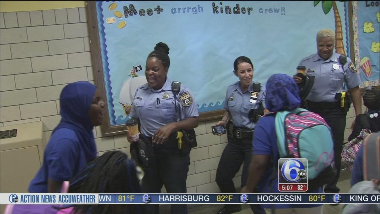 Community comes together for first day of school
