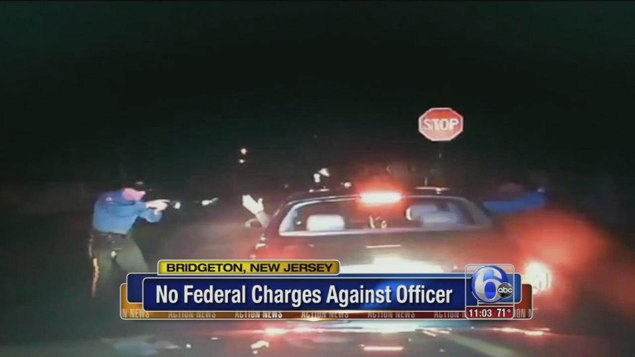 VIDEO: No federal charges against officer