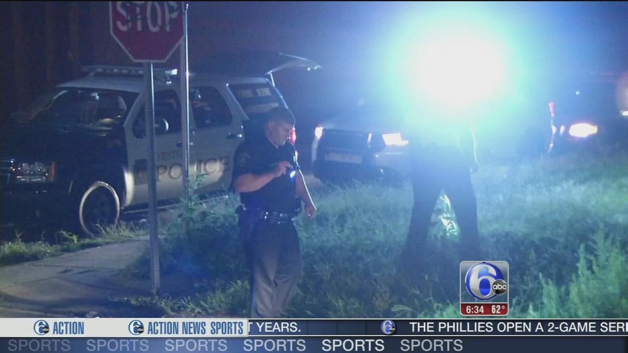 VIDEO: Woman wounded by gunfire in Chester