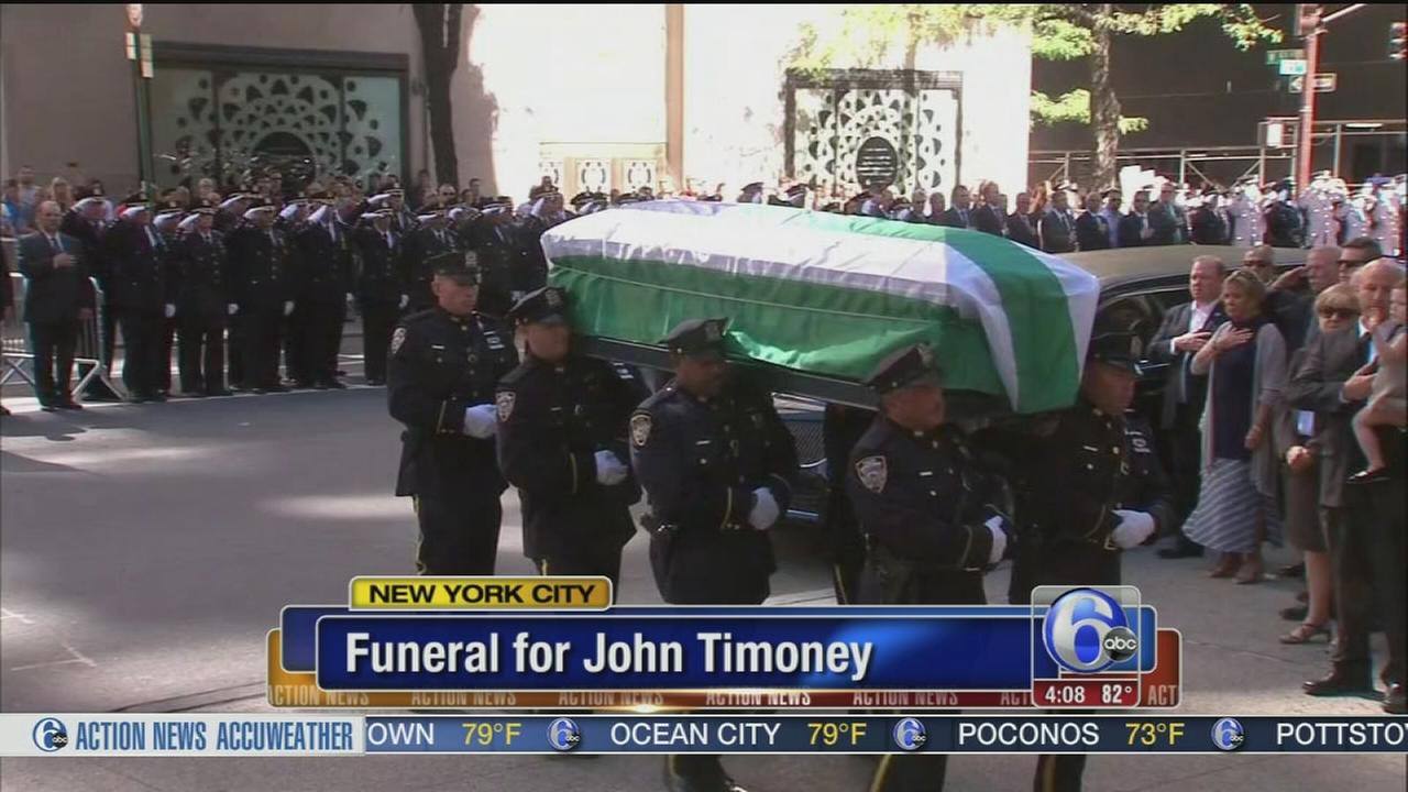 VIDEO: Fmr. police commissioner Timoney laid to rest
