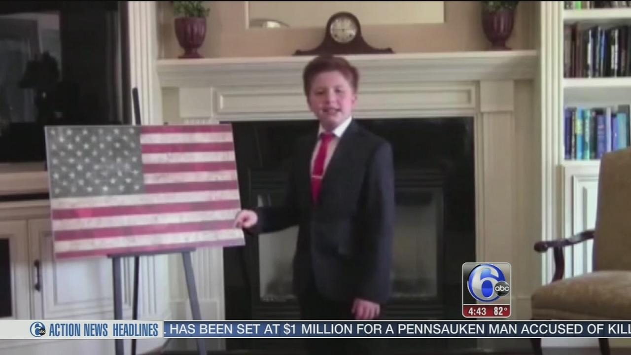 VIDEO: Boy memorizes US Constitution