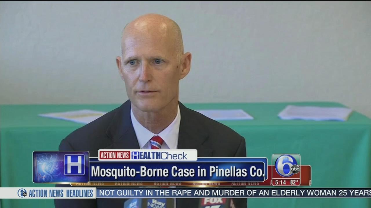 VIDEO: Florida: 5 new Zika cases including 1 in the Tampa Bay area