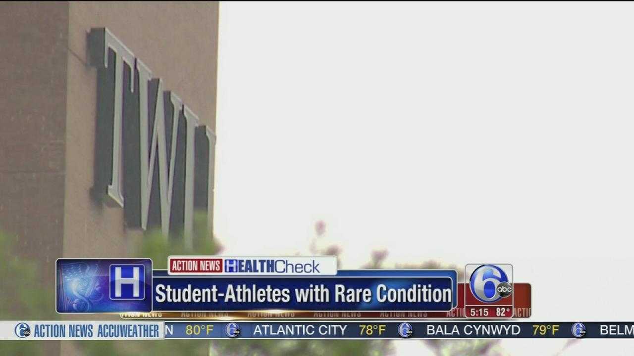 VIDEO: Student-athletes with rare condition