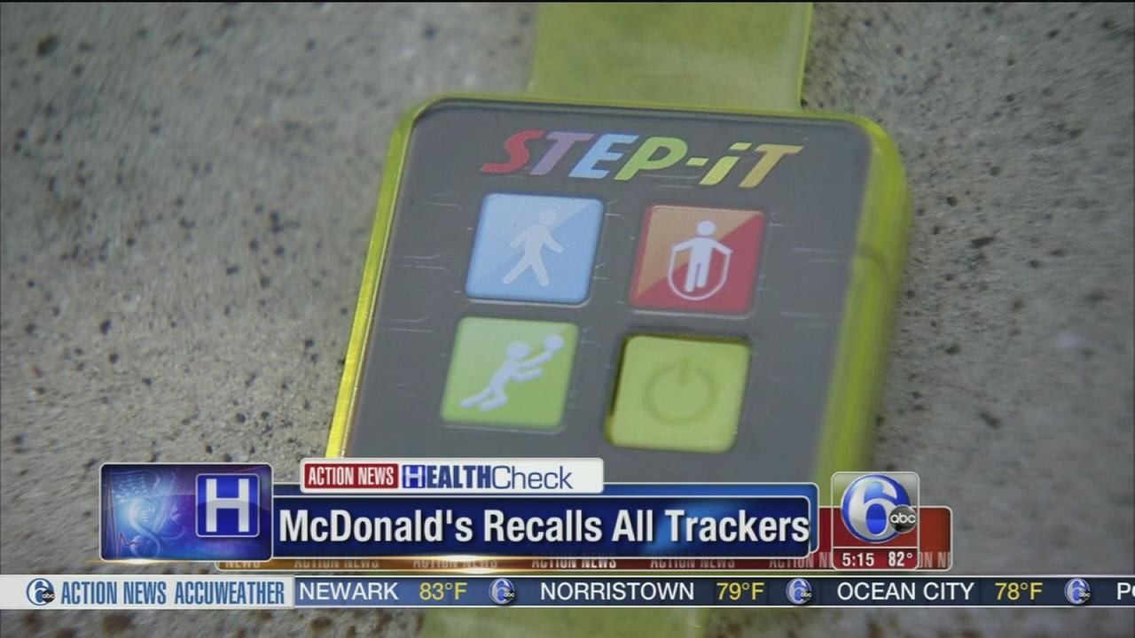 VIDEO: McDonalds recalls all trackers