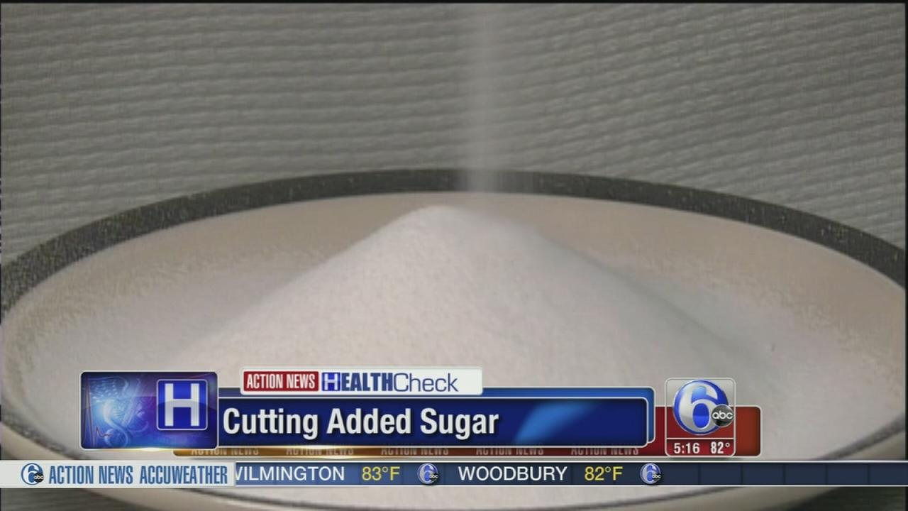 VIDEO: Cutting added sugar