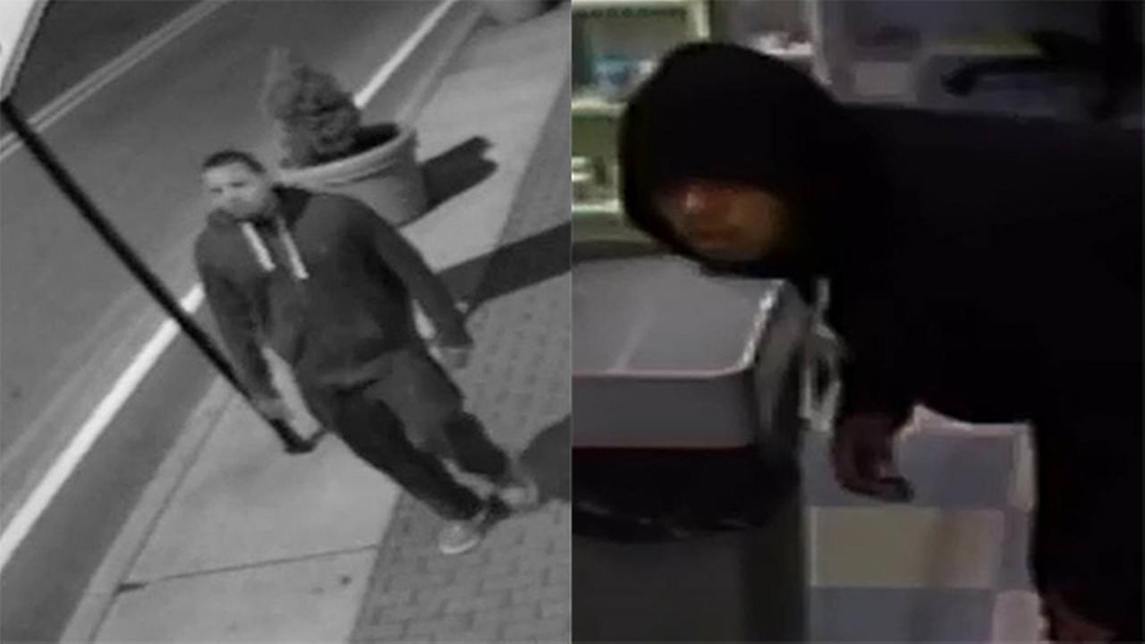 Police in Haverford Township are searching for two pharmacy burglary suspects.